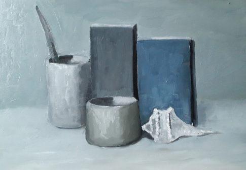 Composizione in grigio