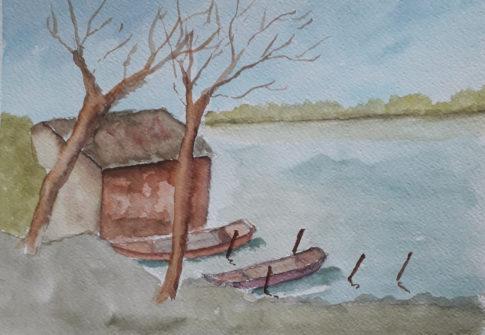 Paesaggio lacustre #1
